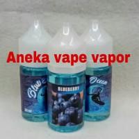 Liquid Premium Ocean Blue Blueberry 30 ML New