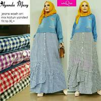 Baju Muslimah/Longdress/Maxydress/Gamis Maxi Cantik Simple Bagus Butik