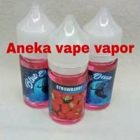 Liquid Premium Ocean Blue Strawberry 30 ML New