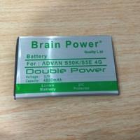 Batrei Batre Batery Hp advan S50K 4g brain power