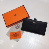 Dompet Wanita  Wallet Hermes Kode : 520 Mirror Quality Hitam