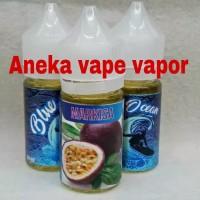 Liquid Premium Ocean Blue Markisa 30 ML New