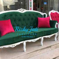 kursi sofa keluarga minimalis murah ukira khas jepara mewah