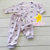 Baju Bayi Celana Bayi Setelan Set Baju Harian Panjang Anak Newborn