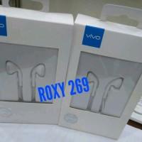 HF Headset Earphone HP VIVO V3 Ori Handfree Handset Hedset Ori Semua