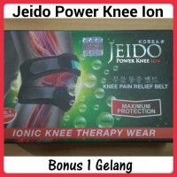 Jeido Power Knee Ion (*Bonus Jeido Power Wrist)