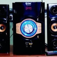 Jual Speaker Aktif Multimedia Gmc 889B Bluetooth, Fm Radio, Remote,