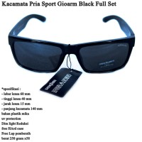 Kacamata Cowok Sunglasses Sport Gioarm black