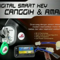 New! Alarm Motor Honda Beat Pop Fi Injection I-Max Digital Smart Key