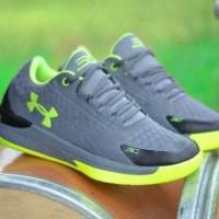 Sepatu Under Armour Pria Sport Basket Running Kualitas Grade ori impor