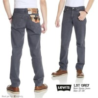 LIMITED celana jeans levis 505 reguler standar besic warna abu abu un