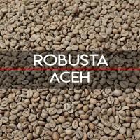 Jual Green Bean Robusta Aceh 1Kg   Biji Kopi Mentah Murah
