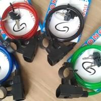 KUNCI PENGAMAN SEPEDA (SECURITY LOCK) GENIO 8X90CM