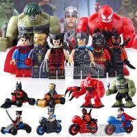 Jual Lego Super Hero Superhero Avenger SY 658 SY658 Superman Batman (8box) Murah