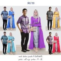 Jual batik sarimbit muslim 733/batik murah online/baju batik grosir Murah
