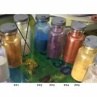100g Pearl / Metallic Powder Bubuk Mutiara Metalik Glitter Nail Art