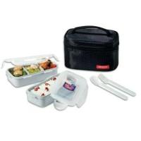 LOCK&LOCK Lunch Box Set 2P Black HPL752