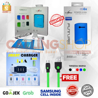 POWERBANK universal samsung+Fastcharger 3.4A [promo murahhh]