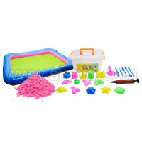Paket Cetakan Pasir Kinetik Mainan Anak Magic Sand Lengkap