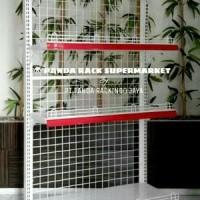 RAK SUPERMARKET PANDA S4 WALL GONDOLA STARTING ATAU PER Original