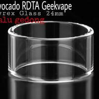 Harga glass replacement kaca pengganti rdta avocado | Hargalu.com