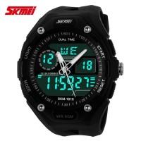 Jam Tangan LED Wanita SKMEI Fila MINI Spider 1013 Hitam Original 5 ATM