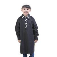 T 1025 Baju Kurta Anak Laki-laki Gamis anak Cowok Stripe Neck Kurta