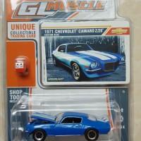 Greenlight GL Muscle series '1971 Chevy Camaro Z/28 Custom Blue