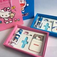 1SET 3in1 Power Bank 3D Doraemon~Hellokitty Paket GIFT 3in1 Souvenir