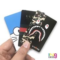 Custom emoney / etoll card Mandiri 1 sisi kualitas terbaik