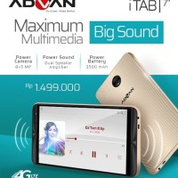 Advan iTAB 4G LTE 2/16GB - Garansi Resmi