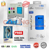 Power Bank SAMSUNG CELL ORIGINAL FUTURE + Original Kabel data samsung
