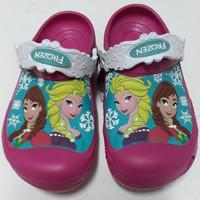 ON SALE Crocs anak ori clog character frozen junior