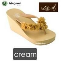 Harga sandal wedges wanita megumi cherry butika shop | Pembandingharga.com