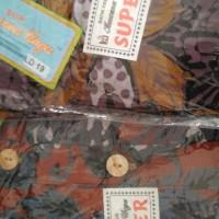 Jual promo murah Daster Lengan Panjang Batik Kencana Ungu Super Longdres D Murah