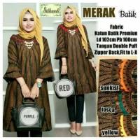 termurah Baju kerja Dress batik