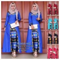 murah Harga Promo Baju batik modern baju muslim wanita Cantik