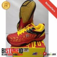 Promo Sepatu badminton bulutangkis RS SND LIMITED MERAH KUNING