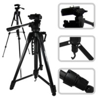 Tripod EXCELL PROMOSS BLACK Kamera Slr Dslr Mirrorless Gopro Hp Takara