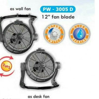 Maspion PW 3005 D Kipas Angin Tornado 2in1 Power Fan 12 inch PW-3005D