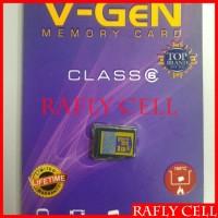 V-Gen Original Kartu Memori 8 GB Micro SD V Gen vgen 8GB Memory Asli