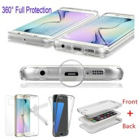 Casing HP Samsung Soft case full 360 back front galaxy s7 edge Origin