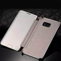 Casing HP Samsung Flip Cover Galaxy S7 Edge Smart Clear Transparan vi
