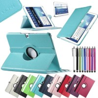 Casing HP Samsung Rotating case for Galaxy Note 10 1 P600 2014 editio