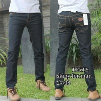 Hot Sale ! -- Celana Jeans Levis Skinny Slimfit Warna Abu Jeans Pria