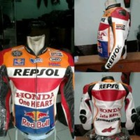 Jaket Kulit Honda Repsol Punuk