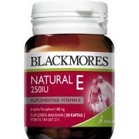 Jual Blackmores Natural E 50 Caps Murah