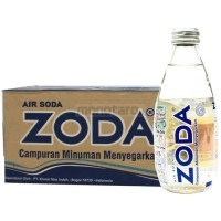 Air soda Zoda isi 24 botol x 250 ml