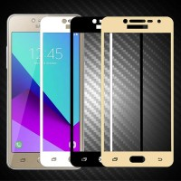 Tempered Glass Samsung J7 Max Full Cover Screen Color Anti Gores Warna