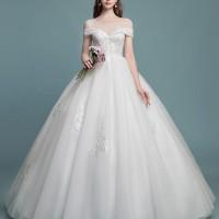 Gaun Pengantin 1804045 Putih Sabrina Wedding Gown